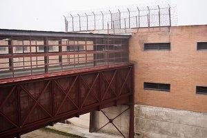 Prison bridge