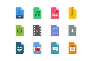 12 App File Icons