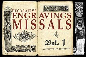 ENGRAVINGS MISSALS VOL 1 + BONUS