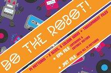 Do The Robot! Robotic Illustrations!