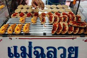Street food stall in Bangkok