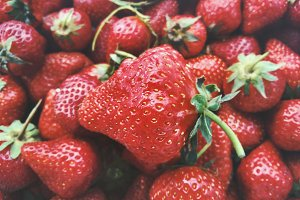 Fresh Strawberries organic food