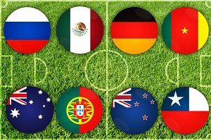 Confederations Cup countries