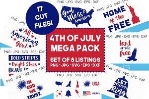 Fourth of July SVG Bundle