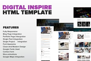 Digital Inspire - Multipurpose HTML
