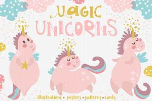 Magic Unicorns set