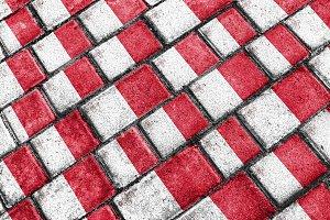 Malta Flag Urban Grunge Pattern