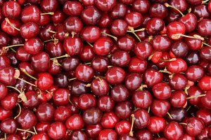 Red Cherries Fruit