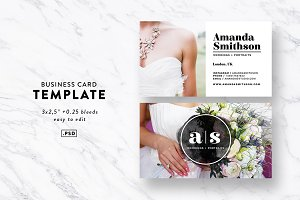 Business Card Template / Photography