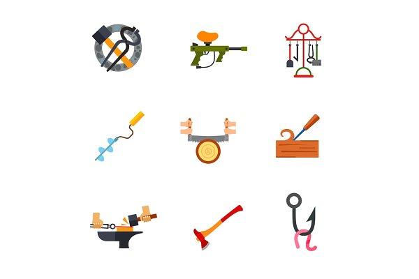Skill icon set