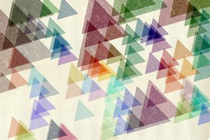 Triangles Textured Paper