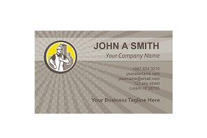 Business card template  Window Clean
