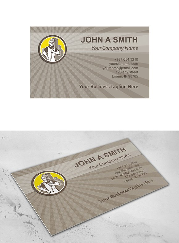 Business card template window clean business card templates business card template window clean business card templates creative market colourmoves