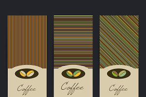 Coffee flyer template.