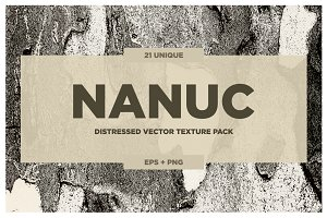 NANUC - Vector Grunge Textures VOL.2