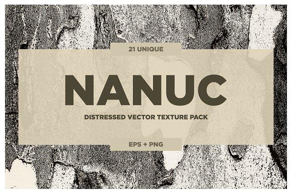 NANUC Vector Grunge Textures VOL.2