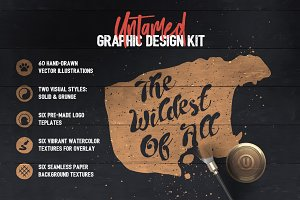 Untamed Graphic Design Kit