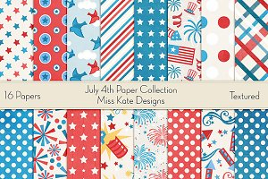 July 4th Paper Collection