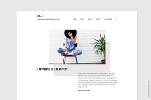 Linae - Minimal WordPress Theme