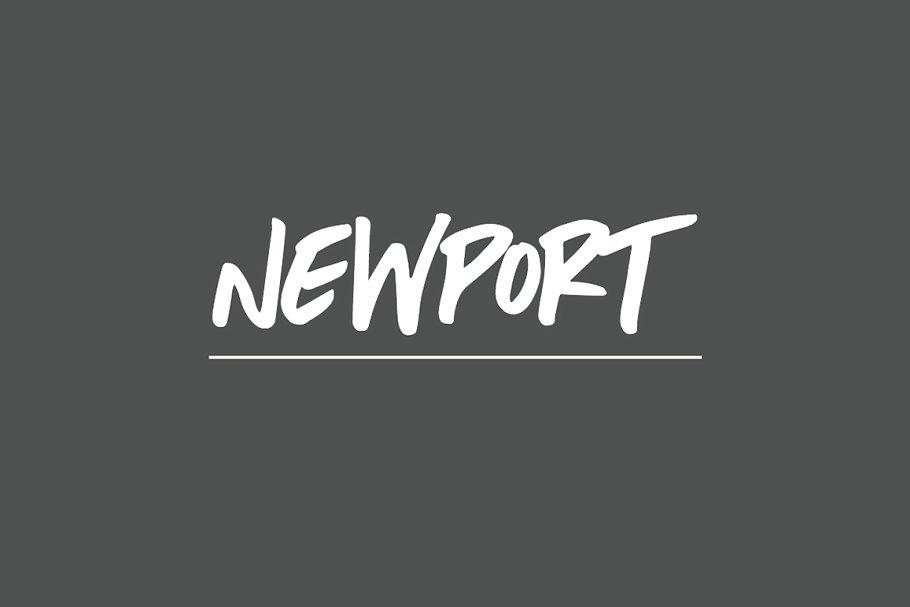 Newport | A Beachy Handwritten Font