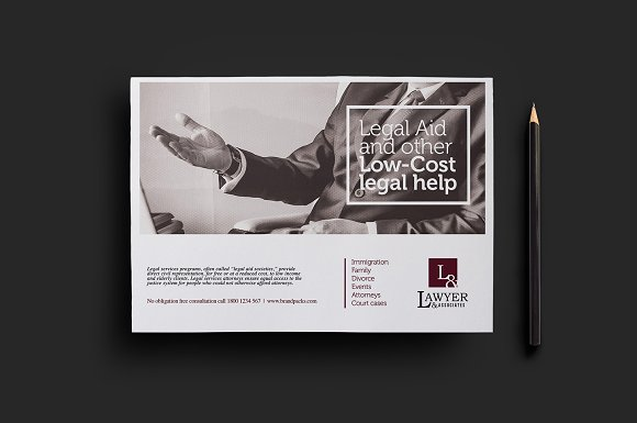 Law Firm Flyer Template V2