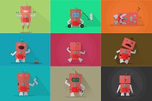Robot Characters - Bundle 9 in 1 |#1