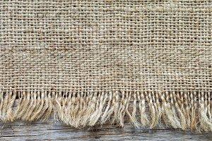 Gunny sack texture