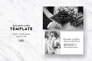 Business Card Template Photography