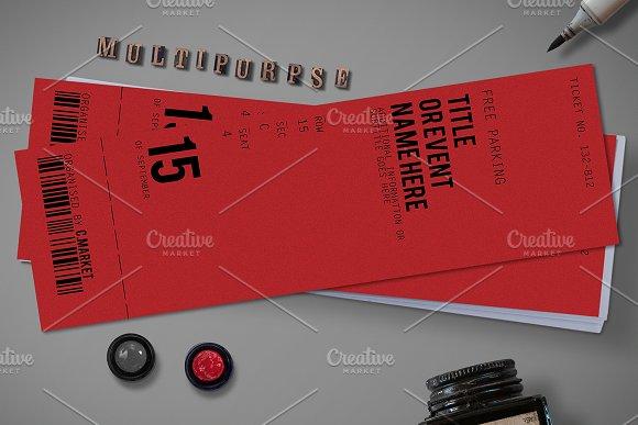 Multipurpose Simple Ticket