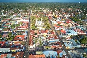Center city of Jinotepe
