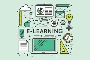 Education school e-learning