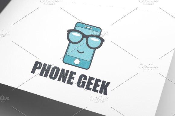 Phone Geek Logo Template