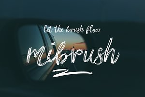 mibrush-a brush in your hand