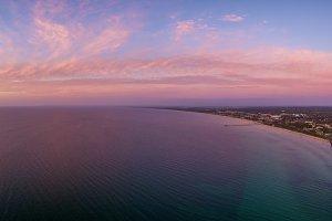 Sunset over Mornington Peninsula