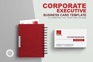 Corporate Executive Business Card