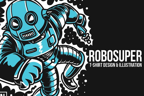 Robosuper Illustration