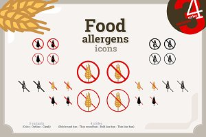 Food allergens - Mega pack (5340)