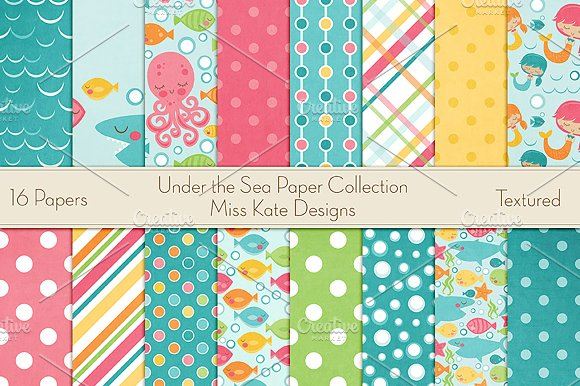 Under The Sea Paper Collection