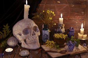Alternative medicine concept 4