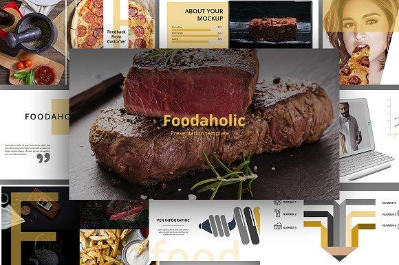 Foodaholic Presentation Template