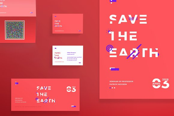 Print Pack Save The Earth