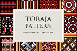 Toraja  Traditional Pattern