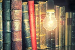 Bulb and Book