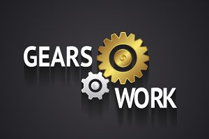 Elegant Gear Logo Design