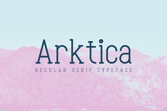 Arktica Font