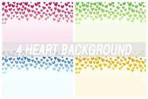 Valentine's backgrounds. Hearts