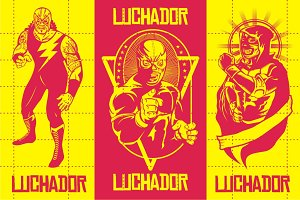 LUCHADOR PACK #3