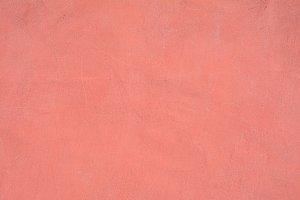 Pink wall.