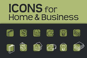 Icons for Business & Home