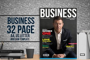 BUSINESS - 32 page magazine